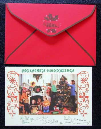 David Cassidy Discography - The Partridge Family - Christmas Card